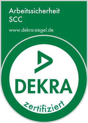 Logo DEKRA Zertifizierung